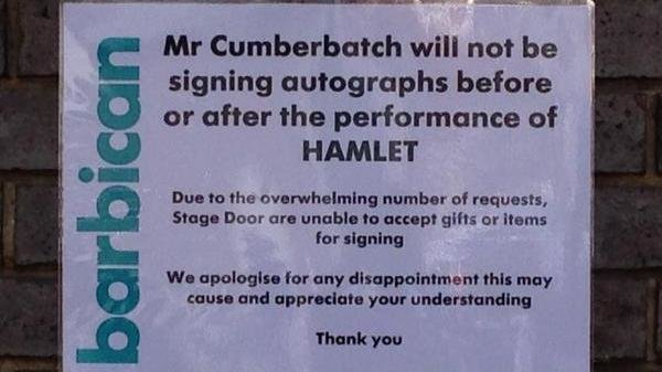 Petition · Barbican Centre: Let's stop Cumberbatch doing ... Benedict Cumberbatch Barbados