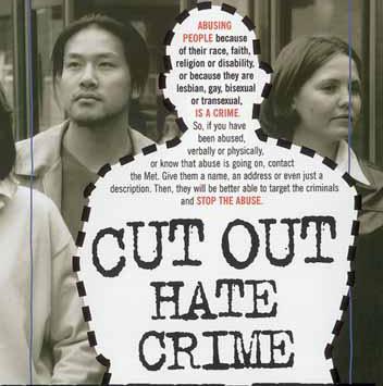 Hate crimes against sexual orientation