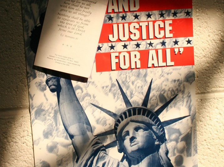 and justice for all essay Free essay: during the civil war, the basis was created in cities around the country for a public school system that would benefit both blacks and whites a.